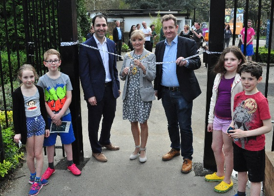 Official opening of Hanwell Zoo