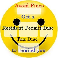Resident Permit Reminder Disc