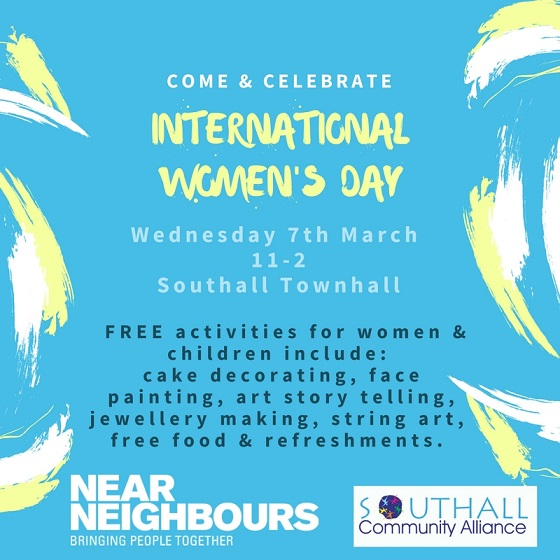 International_Women's_Day at Southall Town Hall