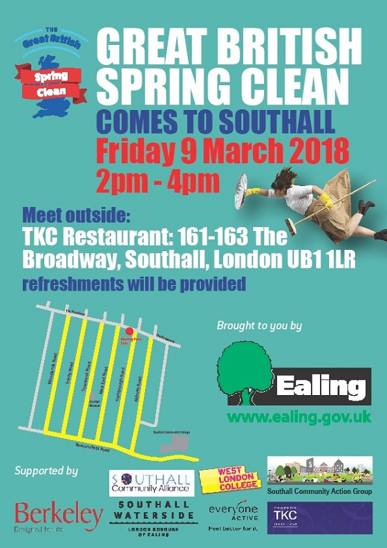 Great British Spring Clean in Southall