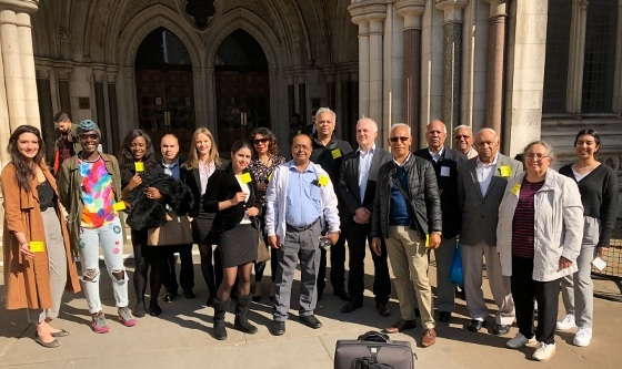 Save Southall Town Hall campaign - court appearance